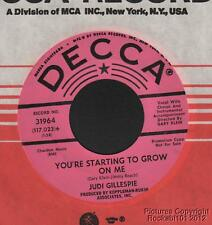 1966 Judi Gillespie Popcorn Northern Soul M- DJ 45 You re Starting to Grow on Me