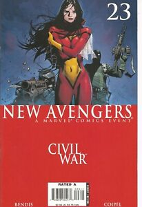°NEW AVENGERS #23 DISSASEMBLED CIVIL WAR TIE IN° US Marvel 2006 Bendis