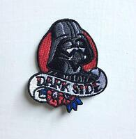 Dark Side Darth Vader Art Badge Iron or sew on Embroidered Patch#1972