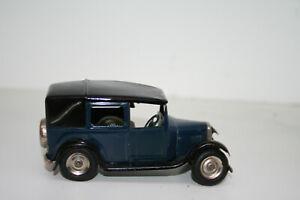 Triang Minic London Taxi Blue Clockwork Mechanism Steerable Lines Bros Ltd