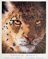 Patricia Hunter Snow Leopard Poster Kunstdruck Bild 71x56cm