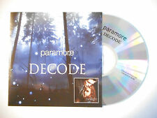 PARAMORE : DECODE ♦ CD SINGLE PORT GRATUIT ♦