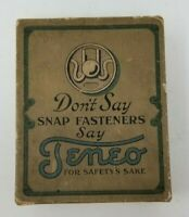 Vintage Teneo snap fasteners 6 dozen original unused