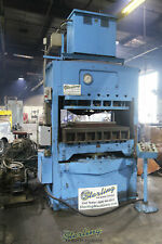 530 Ton, Used French Oil Mill Machinery Hydraulic Molding Press, Mdl. 51118, A54