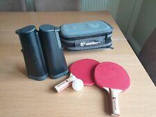 Artengo table tennis rollnet set two bats one ball (2 missing) ping pong fun