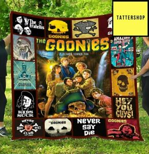 The Goonies Blanketn The Goonies Movie Blanket Funny Birthday Gift For Wife Dad
