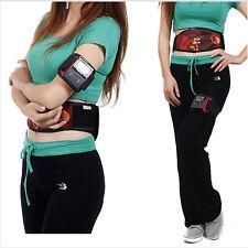 Body Massager Loose Weight Women Men Dual Slimming Fitness Belt Health Vibrating