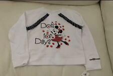 Disney Parks Minnie Mouse Girls Sweater Sweatshirt New