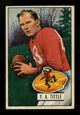 1951 BOWMAN FOOTBALL~#32~Y. A. TITTLE~PRICED RIGHT--PRICED TO SELL~49ers