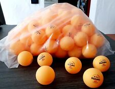 NICE PRICE --> 120 Nittaku 40mm 3***, orange, C-Ball, Made in Japan