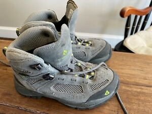 Vasque Breeze Gore-Tex Hiking Boots Shoes Model 7213 Sz Youth 2 waterproof Gray