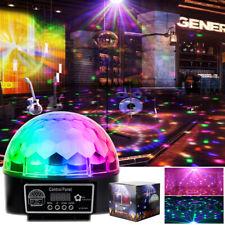 Disco Lichteffekt LED Discokugel DJ Party RGB Bühnenbeleuchtung Licht + Remote