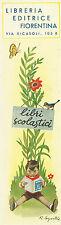 Segnalibri Libreria Editrice Fiorentina Illustrati da Roberto Sgrilli Anni '40