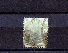 Great Britain #107 (GR701) Queen Victoria 1 shiling green, U,FVF, CV$300.00