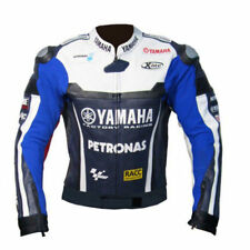 YAMAHA PETRONAS MOTORBIKE RACING LEATHER JACKET CE APPROVED