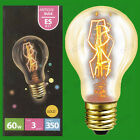 60W antique vintage doré GLS à variation Ampoule Lumière vis Edison Es E27
