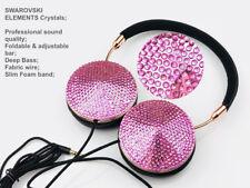 Blingustyle New generation SWAROVSKI ELEMENTS Crystals Slim and Fold headphone P