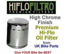 Recambios Hiflofiltro color principal cromo para motos Harley Davidson