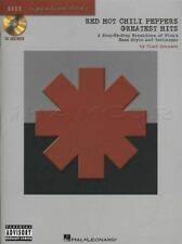 Red Hot Chili Peppers Greatest Hits Bass Guitar TAB Music Book with CD