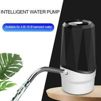 Universal Electric Water Bottle Pump USB Dispenser Office Automatic Home U0S8