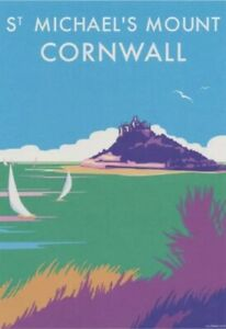 St Michael's Mount Cornwall Eco Friendly Brand New Blank Greeting Card