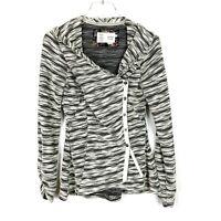 Anthropologie Saturday Sunday Sidewinder Blazer Jacket Marled Size Small S T1796