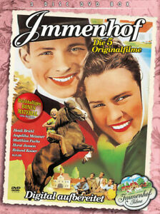 IMMENHOF Collection 5 ORIGINALFILME * DVD BOX digital remastered * HEIDI BRÜHL ;