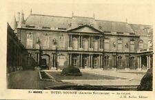 Carte PARIS Hotel Soubise Archives Nationales La Façade