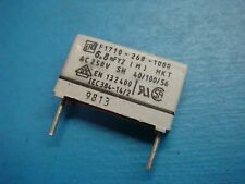 B.E.R. 1µF 4pcs-Roederstein 100 V 5/% Pitch: 15 mm Film Capacitor MKT1822 1uF