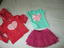 057 GAP Mothercare outft set skirt hoodie and T- shirt size 12-18 months 1-1.5 y