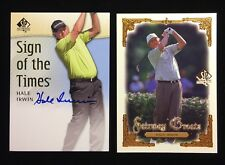 HALE IRWIN 2013 UD SP SIGN OF THE TIMES AUTHENTIC GOLF AUTOGRAPH CARD & BONUS