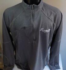 """North End 1/4 Zip Pullover Gray """"Borgata Casino Logo"""" on Chest Sz Lg"""