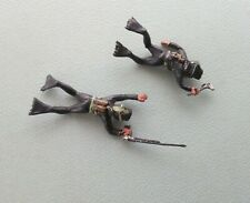 2 x Vintage 1960s Lone Star Harvey Frogmen (Speargun & Wrench Carrying)