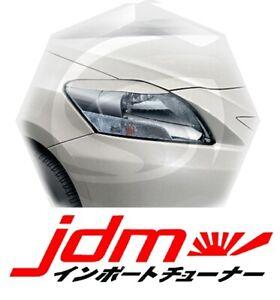 For Toyota Yaris Belta Sedan Eyebrows Eyelids Headlight Cover 4 Door 2005-2012