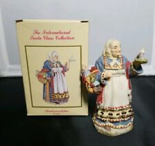 The International Santa Claus Collection Babouschka Russia Figurine