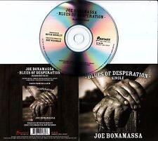JOE BONAMASSA Blues Of Desperation 2016 Dutch 1-track promo CD