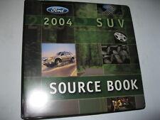 FORD DEALER SUV SOURCE BOOK 2004