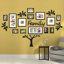 Photo Frame Set Family Tree Picture Collage Wall Sticket Art Hanging Home Decor
