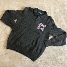 Vintage Denver Nuggets Nba Basketball Lambswool Polo Shirt L