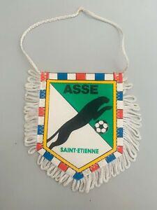 ASSE Saint Etienne fanion vintage football foot pennant wimpel banderin
