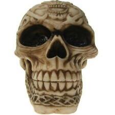 More details for celtic style skull figurine gothic horror skeleton halloween ornament