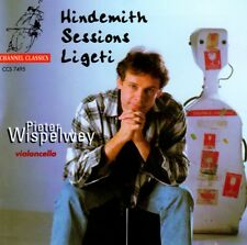 Pieter Wispelwey - Hindemith, Sessions, Ligeti CD Neu - in Folie