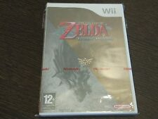 Zelda Twilight Princess Nuevo y Precintado - Pal España Nintendo Wii