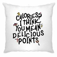 Joke Diet Cushion Cover Calories? You Mean Delicious Points Gym Eating Cooking