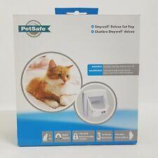 Petsafe Staywell Cat Flap Deluxe 4 Way Locking Cat Door Manual Magnetic