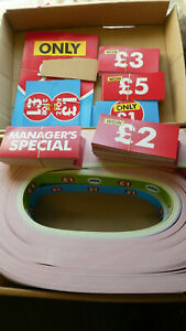 Sales Retail Promotion Display Shelf Talkers,Strips,stickers,posters.Huge Amount