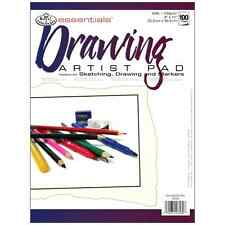 Pack Of 100-Sheet Drawing/Sketching/Markers Essentials Artist Art Paper Pad