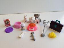 Barbie lot accessoire vétérinaire + animaux  -Lot n° 45