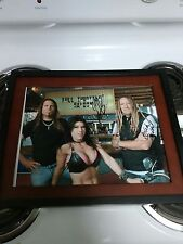 Full Throttle Saloon TV Show Signed 11x14 Framed Photo Jessie James Dupree