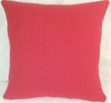 Maharam MONKS WOOL Bright Red  Modern Mid Century Contemporary Sq Pillow